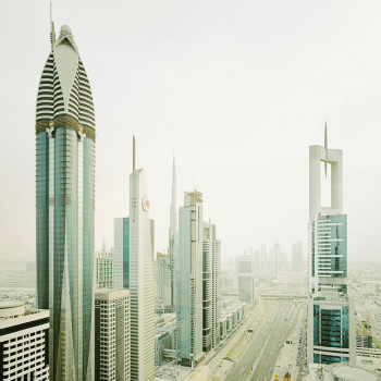 Dubai Sheikh Zayed Road, Burdeny