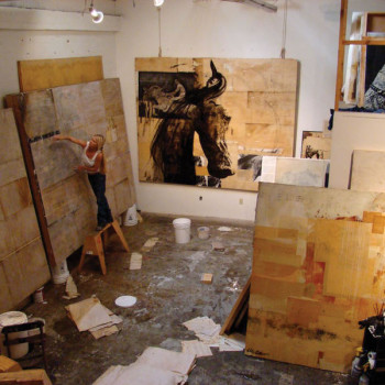 Ashley Collins Painting Studio