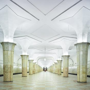 Russian Metro Stations architectural photography contemporary art gallery idaho
