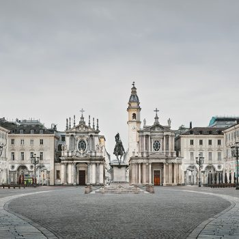 Italian Piazza, architecture photography