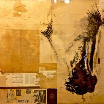 equestrian, mixed media,painting,contemporary