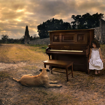 surrealist photography implied narrative multiple exposures tom chambers