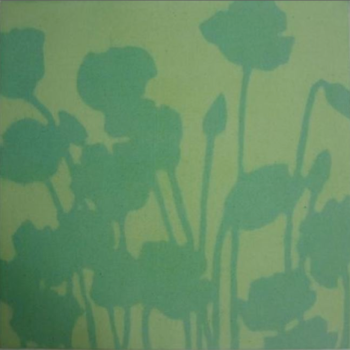 Bigelow Poppies Green painting