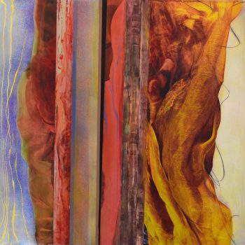 Stephanie Weber san francisco artist oil on aluminum female abstract expressionists