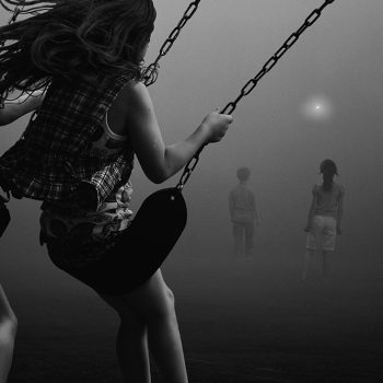 Diaz and Young playground series Black and white photography