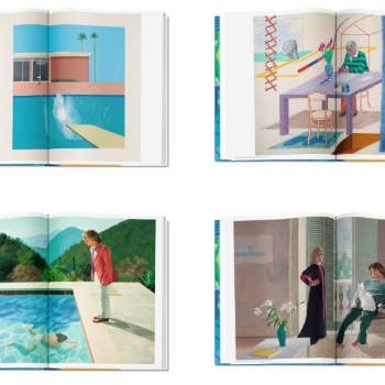 David Hockney Taschen Sumo book, Mark Newson