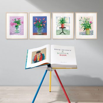David Hockney Taschen Collector's edition artist book