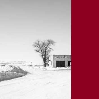Idaho landscape contemporary photography gas station winter Wirth