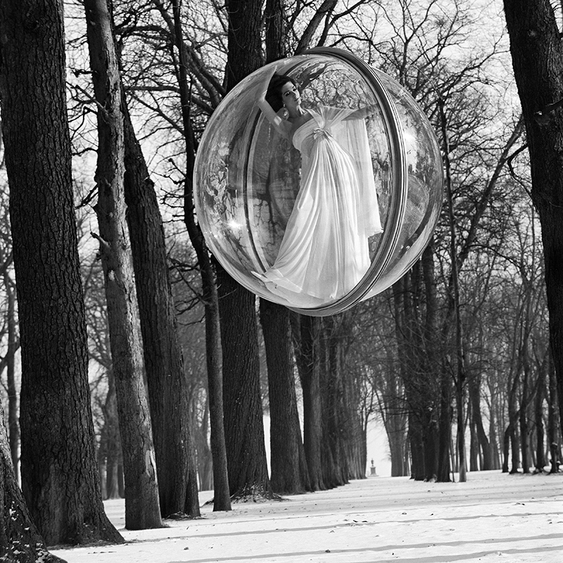 Melvin Sokolsky bubble fly series