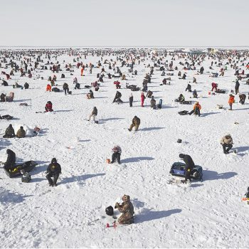 icefishing, color photography, David Burdeny,