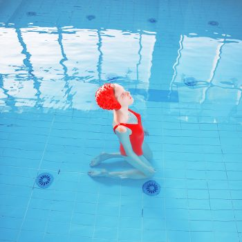 buy maria svarbova prints swimming pool, girl pool