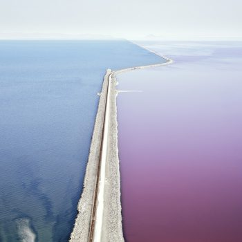 great salt lake salt flats, contemporary color photography, dvid burdeny, gilman art gilman contemporary
