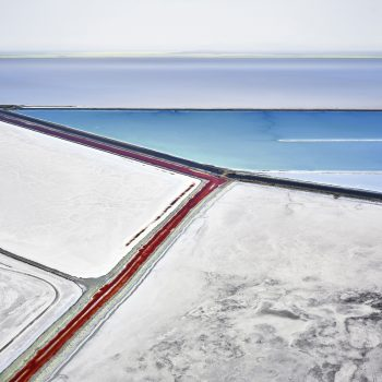 aerial photography -geology,salt flat photography, canadian artist