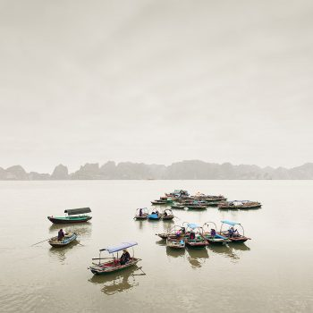 Vietnamese water taxis landscape photography purchase fine art prints