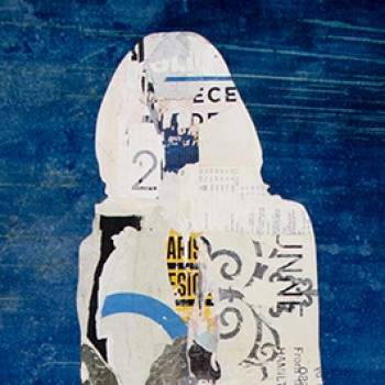Billboard mixed media women artists female figure