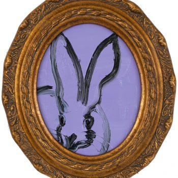 oval painting, slonem, animal art, decorative frame, ketchum idaho art gallery