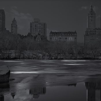 black and white photography, central park in the early hours, nightime images, buy contemporary art