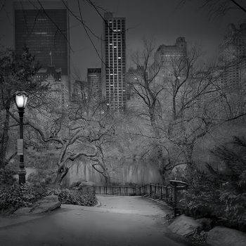 south view central park at night, buy fine art prints, michael massaia, ny phtorgaphy, traditional photorgraphic methods