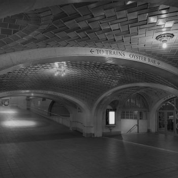 Michael Massaia, whisper room grand central station, new york city at night, black and white photography