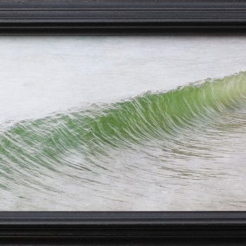 seascape, color photography, artist made frame, photographs as art
