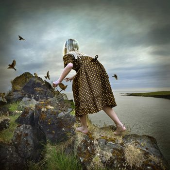 surreal photomontage, tom chambers, magical realism