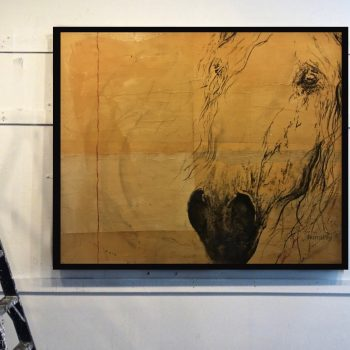 horse art, paintings, resin, collins ashley, gilman contemporary