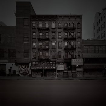 disappearing New York, chinatown manhattan, split toned and tintied gelatin silver prints