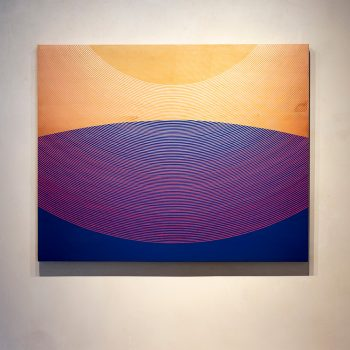 Kelly Ording, graphic design, japanese style, california painter, minimalism, line making, sun valley, abstract art,