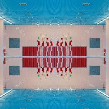 mária švarbovà purchase online, contemporary photography, swimming pool, repetition, manipulated photography
