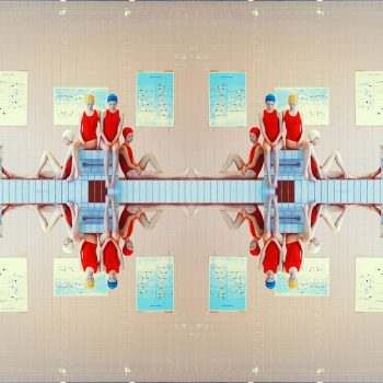 Maria svarbova, swimming pool, color photography, hasselblad masters
