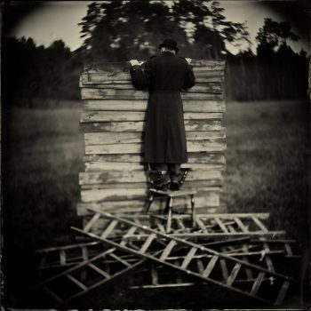 collodion wet plate print, timmermans alex, staged photography,