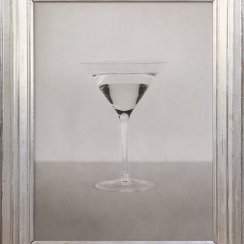 martini in art, blakc nad white photography, gilman contemporary