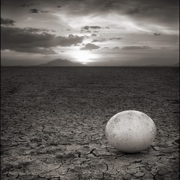 contemporary photography, landscape, ostrich egg, nick brandt
