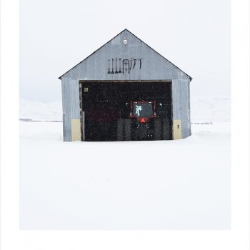steel barn, gilman contemporary, agricultural architecture, color photography