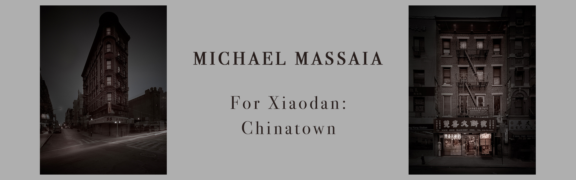 Michael Massaia, chinatown, contemporary black and white photography