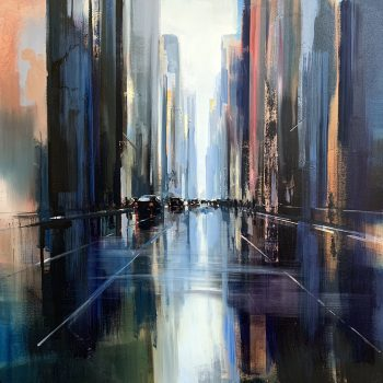 cityscapes, oil painting, craig mooney