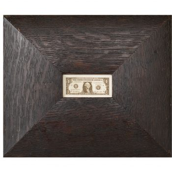 Art featuring money, contemporary photography, the frame as art, hayman jefferson