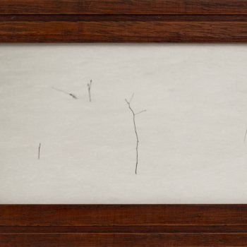 Jefferson Hayman, hand made frame, The Poet, small scale