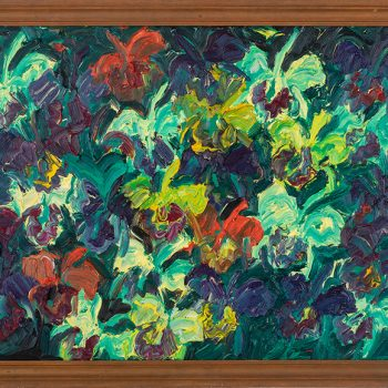 neo-expressionist painting, buy hunt slonem paintings, sun valley art gallery