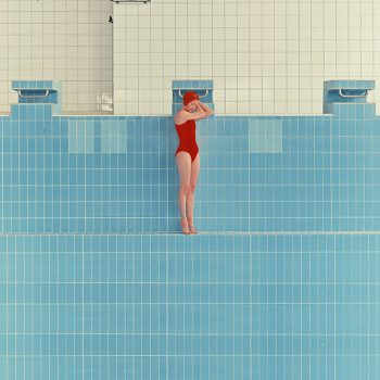 Maria Svarbova, swimming pool